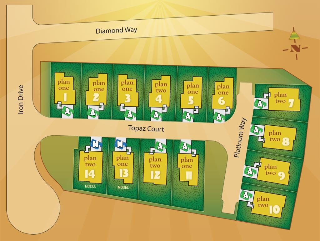 Vista Ridge Sitemap