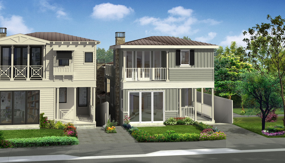 Poppy Avenue Elevation Rendering