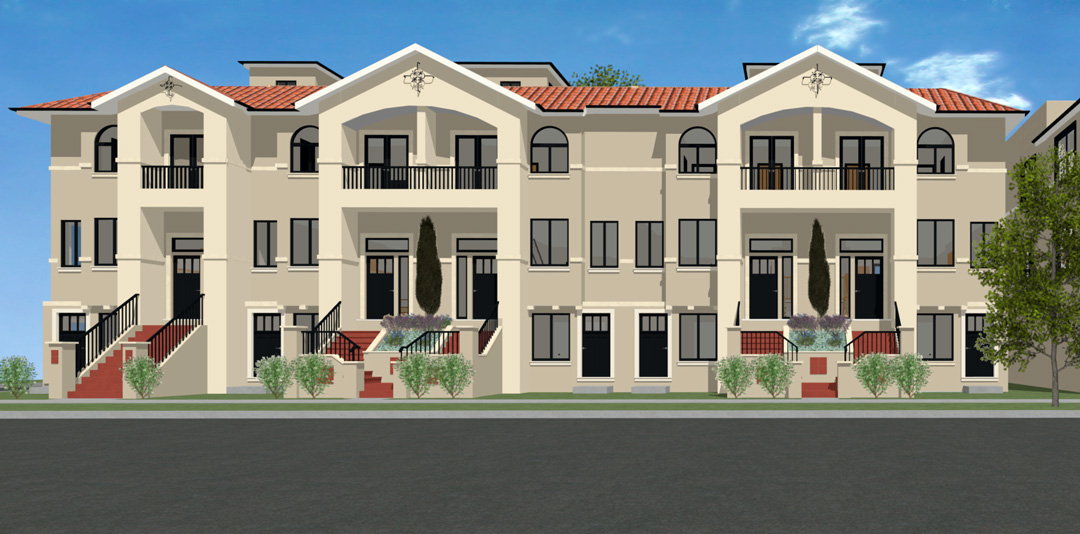 Alhambra Colored Elevation 725