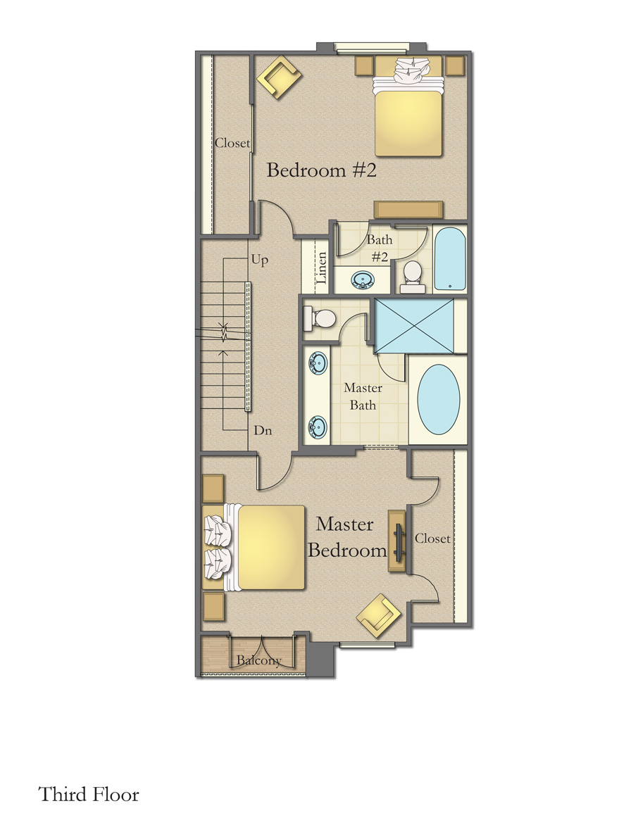 Plan A Third Floor