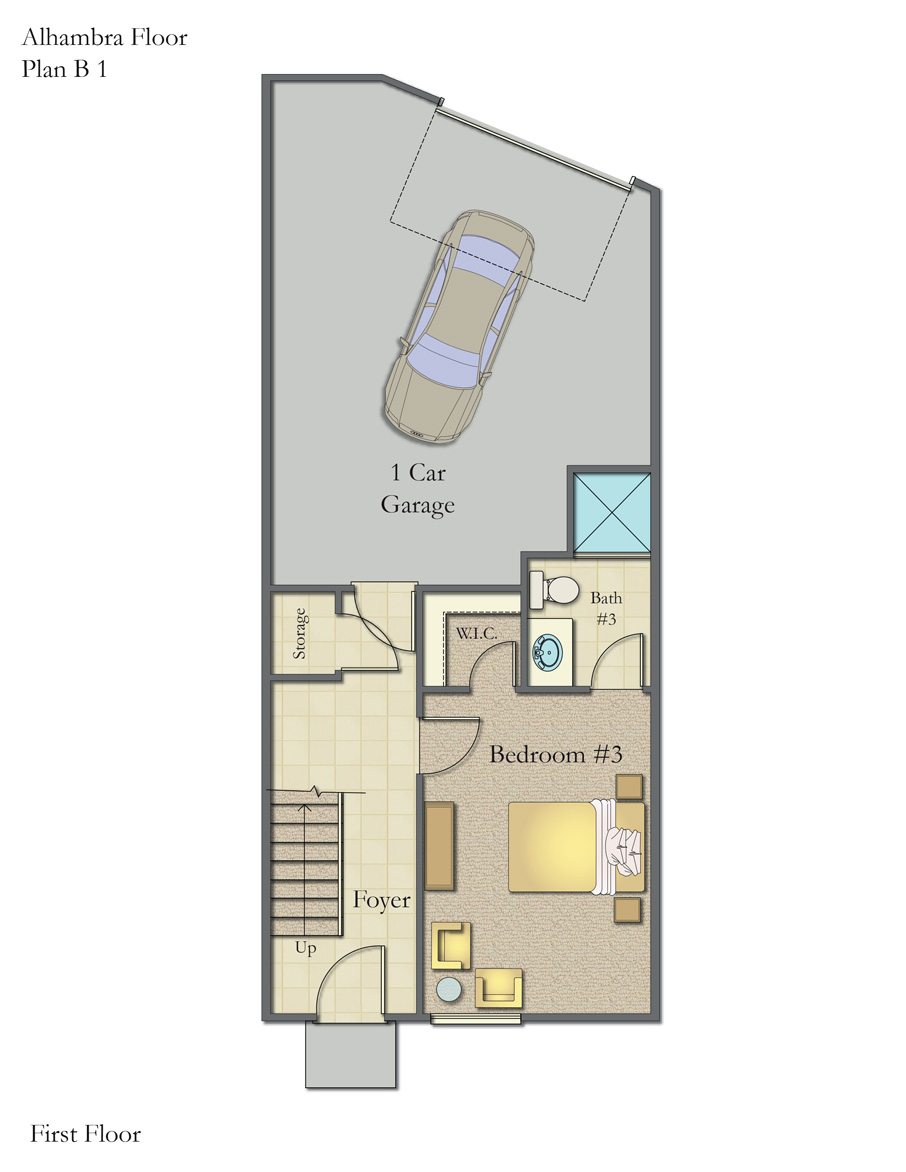 Plan B1 First Floor