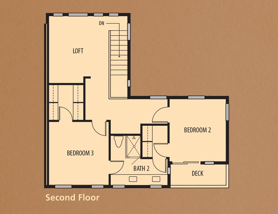 Bear Creek Villas, Murrieta: Villa One Second Floor