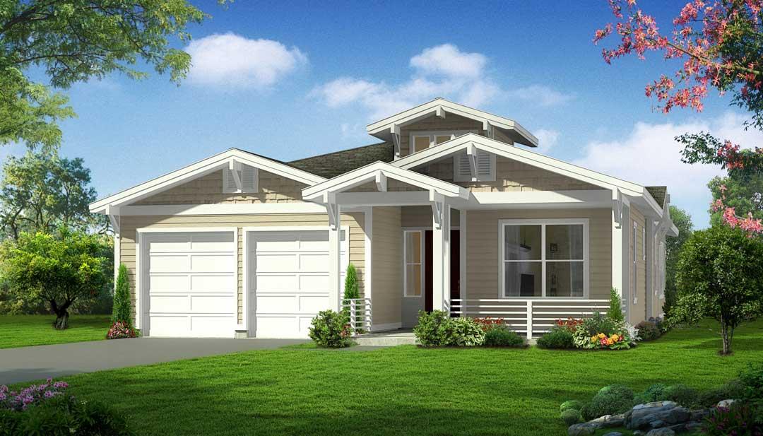 Plan A Craftsman, Bordeaux Oaks, Napa